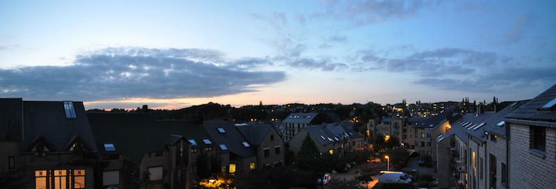 Panorama Louvain
